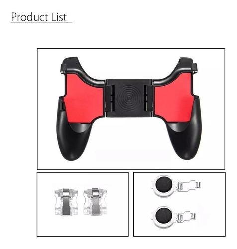 manija soporte gamepad gatillos universal 5 en 1 smartphone