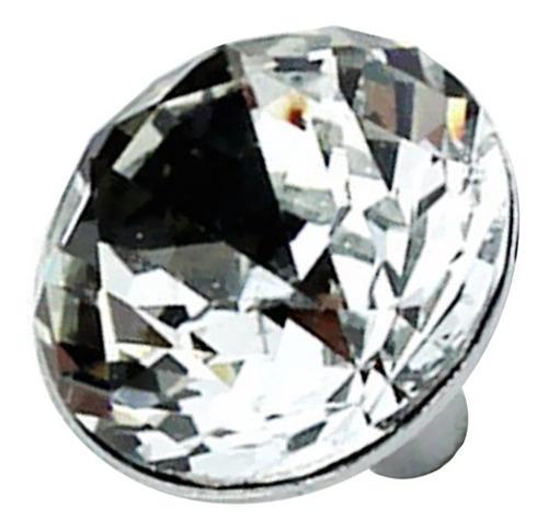 manija tirador perilla cristal diamante de imitación para