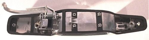 manija trasera izquierda cromada gmc sierra 2007 - 2013