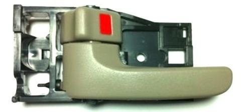 manija tundra 2000-2006 delantera interior beige izquierda!!