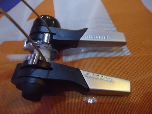 manijas cambio bicicleta shimano sl-sy20a al cuadro- racer b