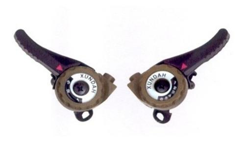 manijas de cambios a friccion - incluye cable y funda