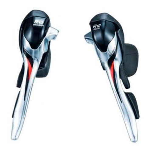 manijas dual control bicicleta ruta - microshift 2x10