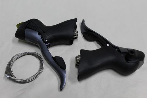 manijas shimano claris 2400 ergopower 2x8 16v planet cycle