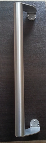 manijon acero inoxidable desplazado ø38x 50 cm