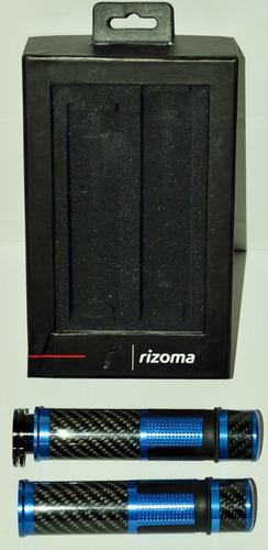 manilares grips fibra de carbono rizoma universales tuning