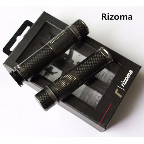 manilares grips rizoma fibra de carbono para moto tuning