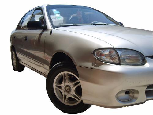 manilla copiloto externa delantera derecha hyundai accent