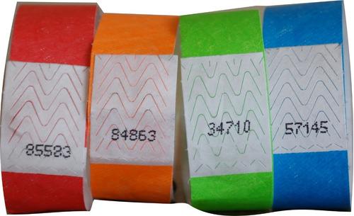 manilla de seguridad-brazaletes vip-papel tyvek-para eventos