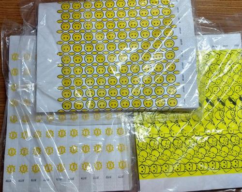 manilla de seguridad vip-papel tyvek-para eventos de formas