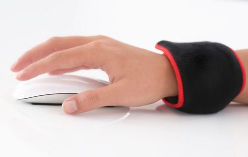 manilla ergonomica ballpad mouse pad para teclado computador