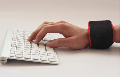 manilla ergonómica gel ballpad mouse teclado en computadores