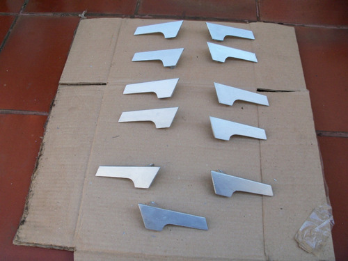 manilla interna puerta aveo ls y lt  metalica en aluminio