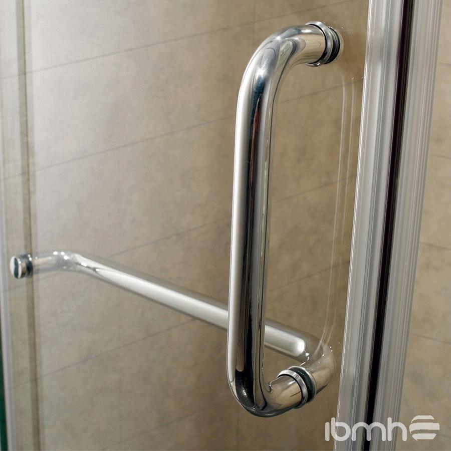 Manilla o tirador puertas de ba o vidrio templado bs 14 for Manillas de puertas