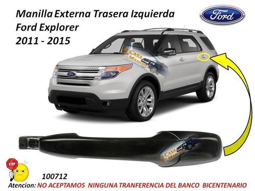 manilla original ford explorer 2012 - 2016 cromada
