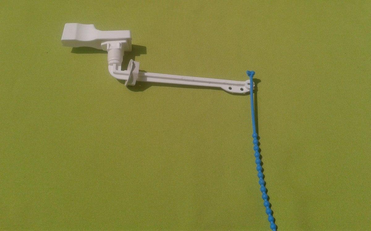 Manilla palanca de repuesto para poceta inodoro wc bs 1 for Repuestos para inodoros
