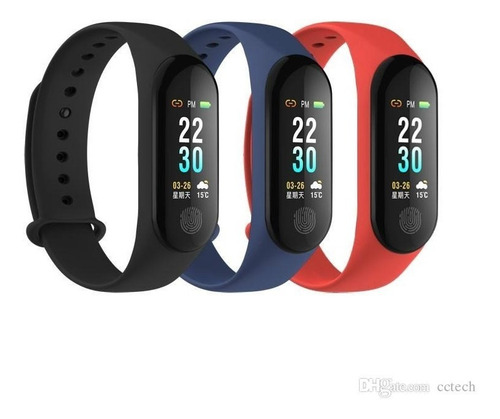 manilla reloj m3 plus ritmo cardiaco y presion arterial