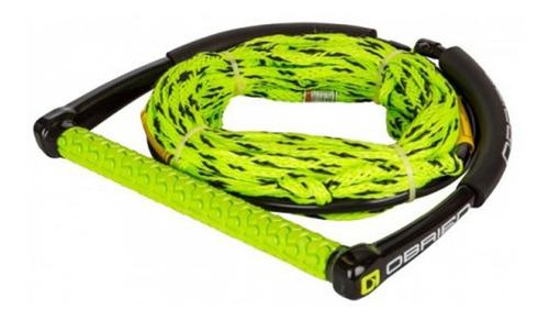 manillar de wakeboard poly e-wake combo - verde (no envios)