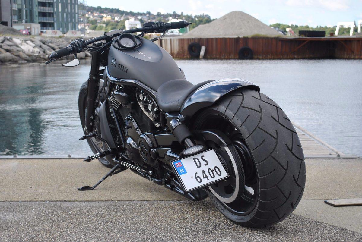 Manillar Moto Semi Recto Drag Bar Motocicleta Harley Honda