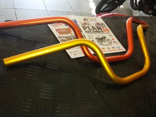 manillar para moto - varios colores y modelos - bike up