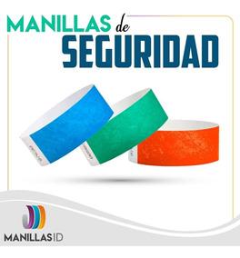 71c605f84ab3 Manillas De Seguridad Tyvek 3/4 Para Eventos 200und Marcadas