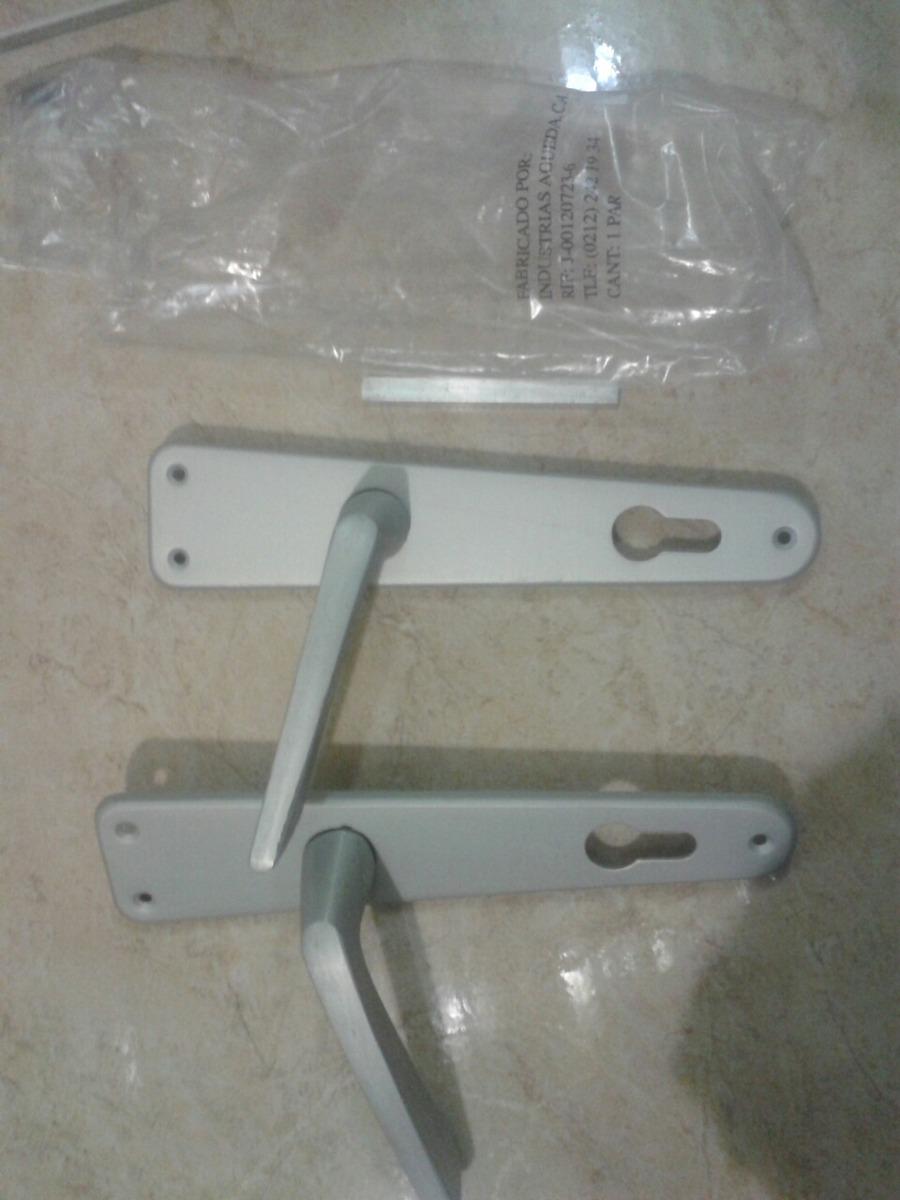 Manillas para puertas de madera en aluminio bs en mercado libre - Manillas para puertas de madera ...