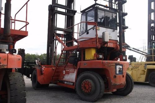 manipulador de contenedores vacios fantuzzi 2008 fdc25k8