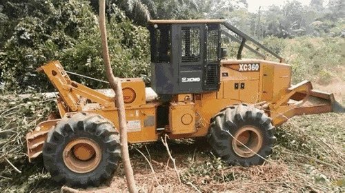 manipulador de troncos xcmg skidder xc360