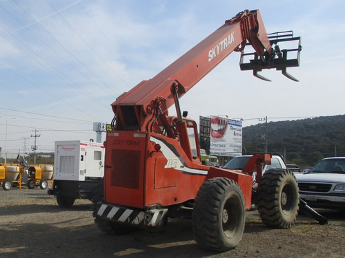 manipulador telescópico sky trak cap. 10,000 libras (renta)