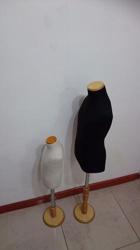 maniquí busto modista de niños, base de madera. fabricantes