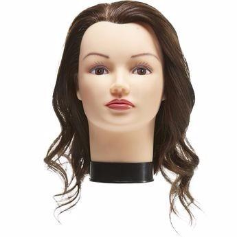 maniquí con cabello humano miss sophia salon care