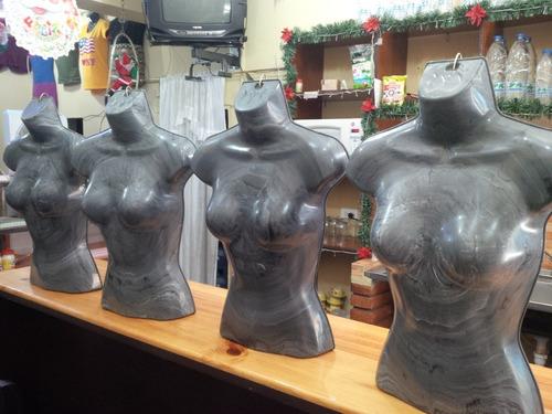 maniquí exhibidor medio cuerpo blusa ropa dama