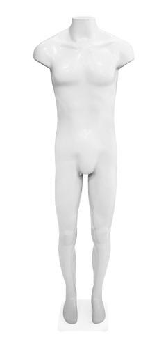 maniquí hombre plástico masculino manecao color blanco