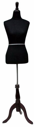 maniqui mujer 4-6 costura costurera sastre negro