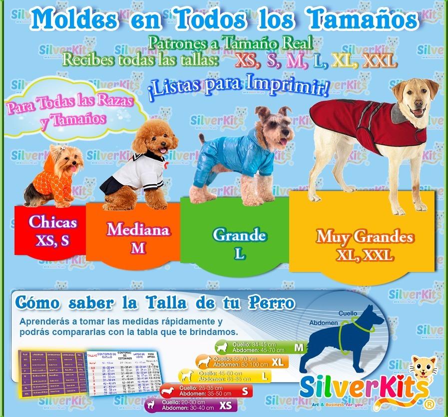 Maniqui Ropa Perros Kit Imprimible Moldes Y Patrones 2018 - $ 99.00 ...