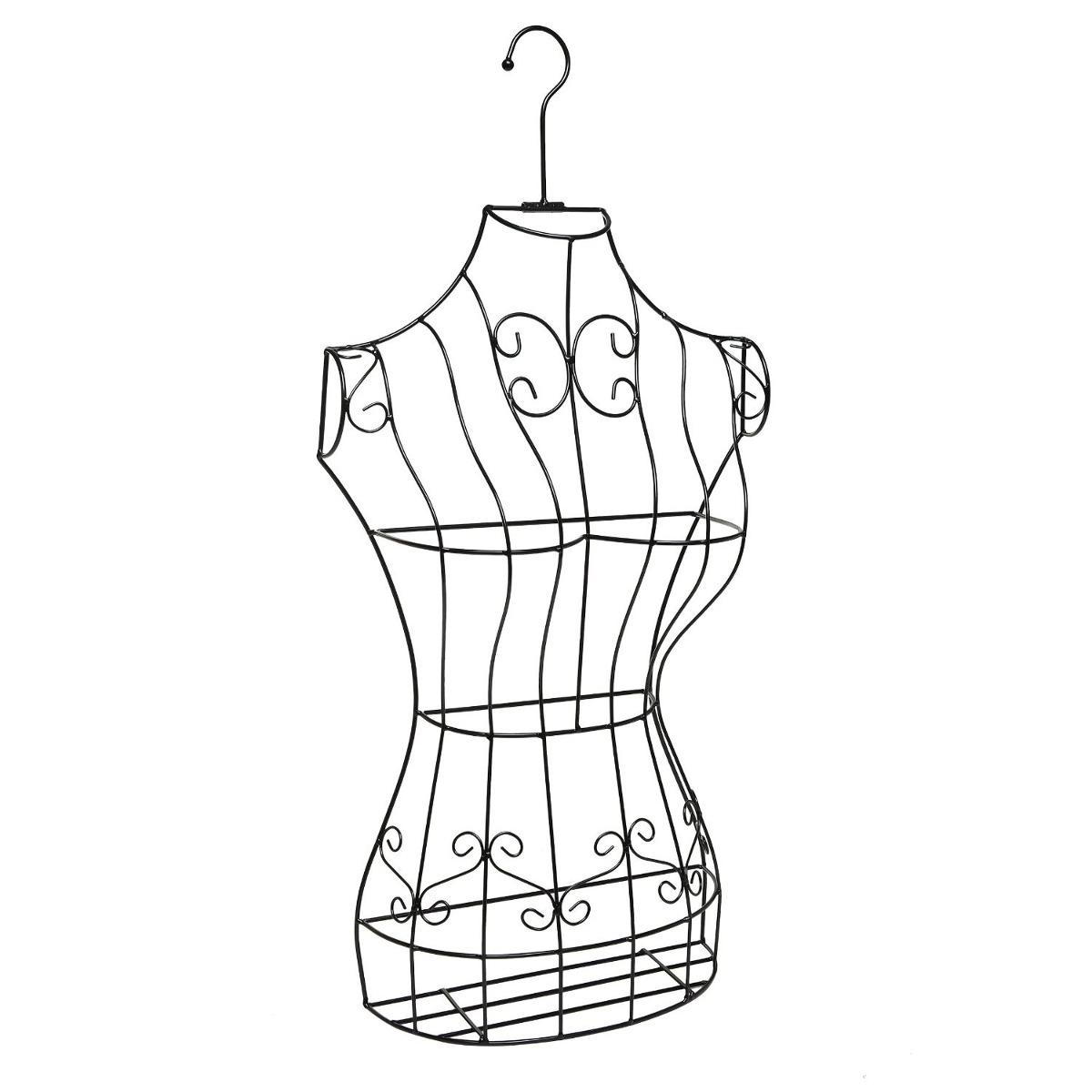 Maniqui torso elegante alambre vestido bonito metal mujer 1 en mercado libre - Perchero maniqui ...