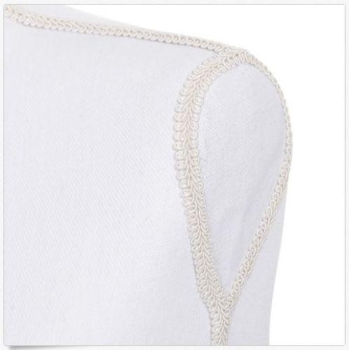 maniquí torso femenino - blanco lino - tripie ajustable