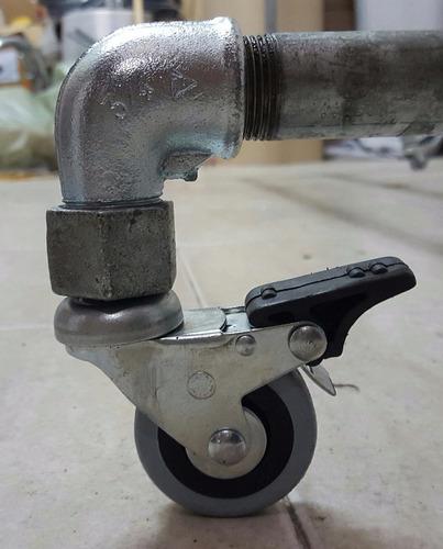 maniquie fibra ahorcado base rustica ruedas ultima moda!!!