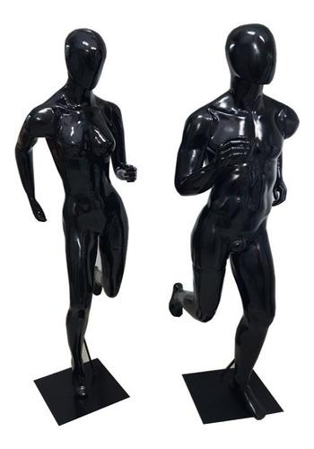 maniquies deportivos runner corriendo fibra de vidrio