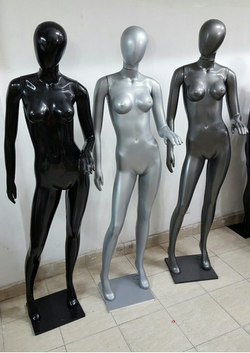 maniquies plastico color peltre plata negro. no se rompen!!!