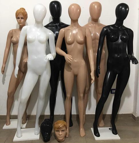 maniquies plástico dama hombre niños nuevos fabricantes