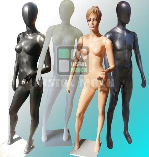 maniquies plasticos irrompibles hombre, mujer y niños