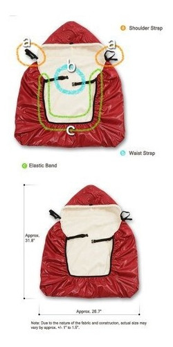 manito shiny skin infant carrier warmer bunting cochecito fo