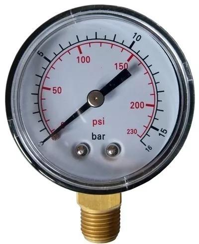 Manometro Para Compressor De Ar  Psi