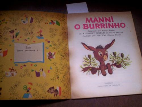 manni o burrinho disney 1965