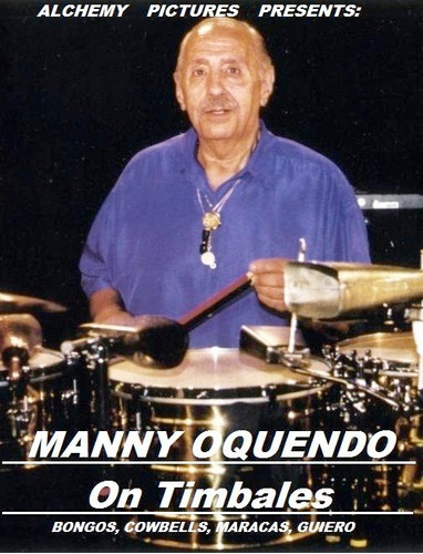 manny oquendo on timbales clinica de percusion dvd