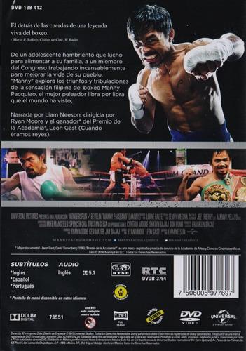 manny pacquiao el gigante del ring dvd