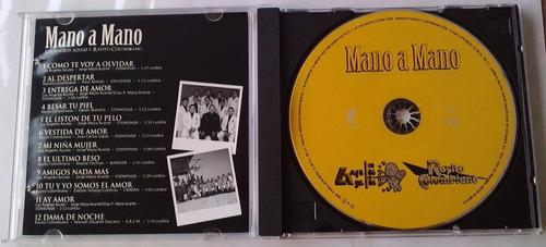 mano a mano angeles azules y rayito colombiano cd raro 2005