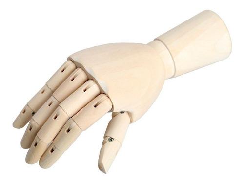 mano articulada de 28cm para artistas