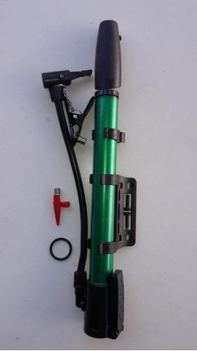 mano bici inflador